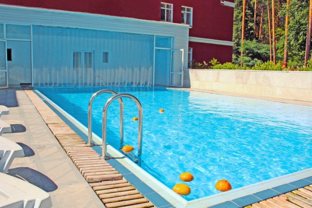 Санаторий Увильды бассейн и баня