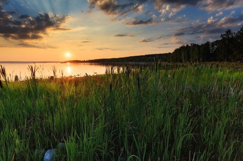 Санаторий Увильды Территория и природа