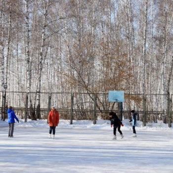 Санаторий Урал зима досуг